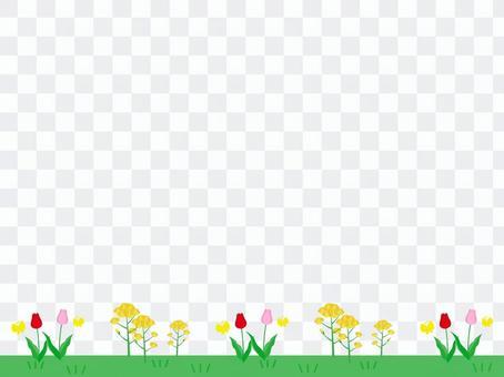 春天的裝飾框架