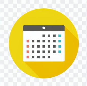 平板圖標 - 月曆