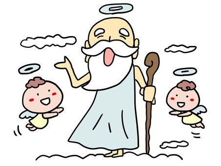 God and angel