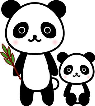 Panda's parents
