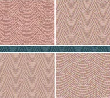 Cobblestone seamless pattern