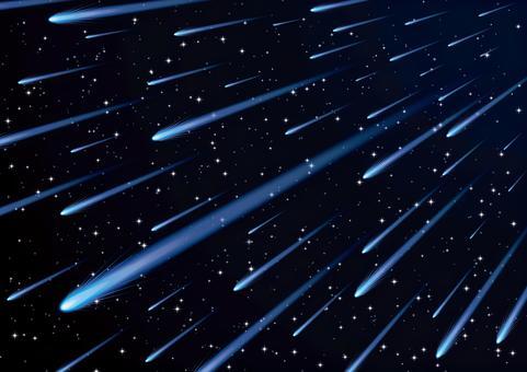 流星雨彗星宇宙