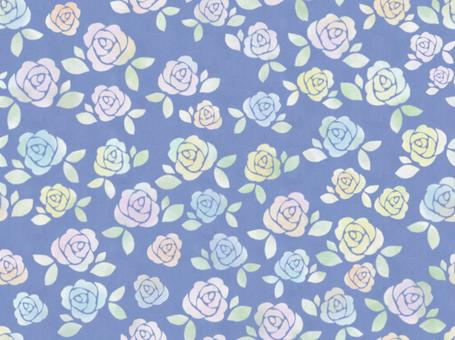 連接玫瑰藍色的牆紙