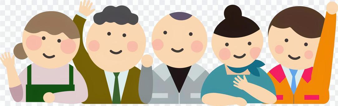 5位面帶笑容的獨資經營者