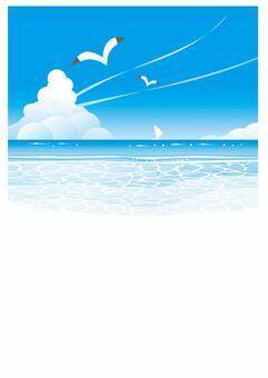 海邊風景(垂直)