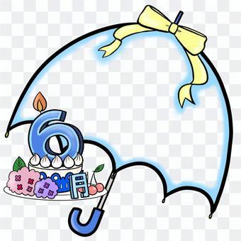 生日蛋糕6月構成記事本