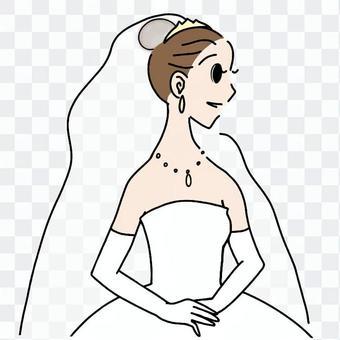 新娘_沒有花束