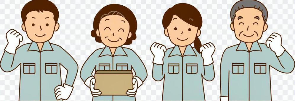 工廠/輕工人員