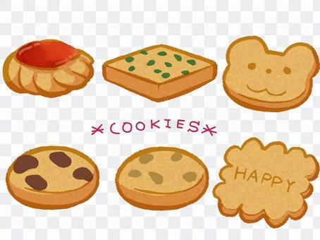 クッキー・ビスケット・イラスト