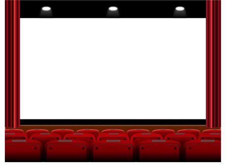 電影院銀幕會場舞台