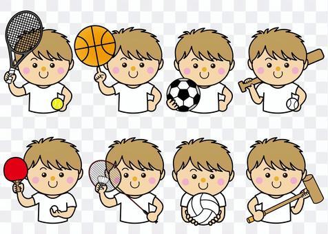 男性42_10(スポーツ・セット)