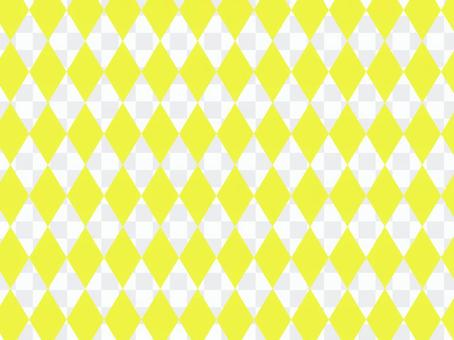 黃色帶鑽石圖案色板