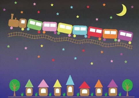 童话夜间火车
