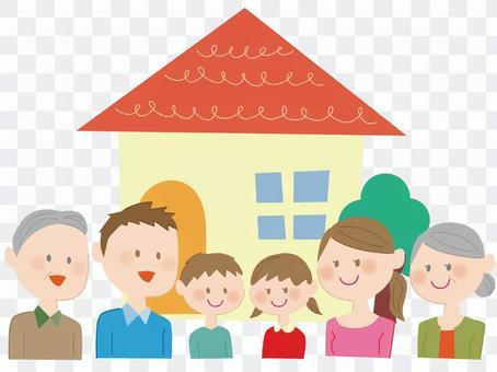 六個家庭和家庭