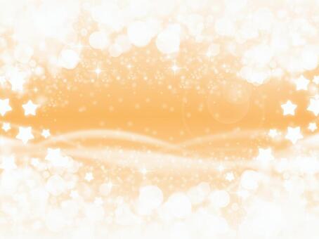 橙色的星星