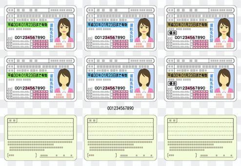 许可证 -  001