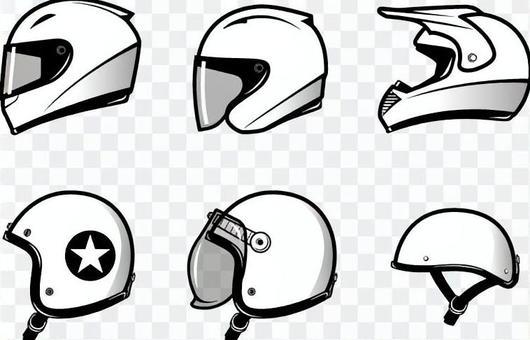 摩托車頭盔圖標