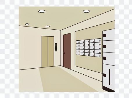 大廈電梯廳