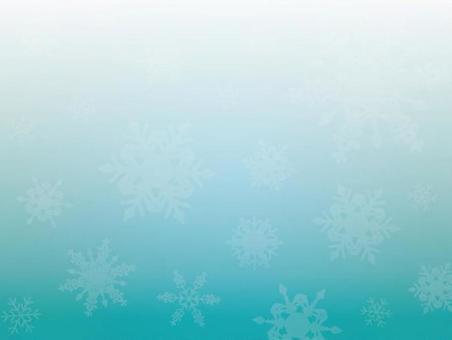 背景(冬季,大雪花,淺藍色)