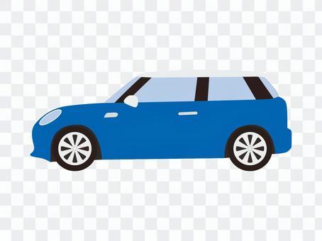 小型车(蓝色)