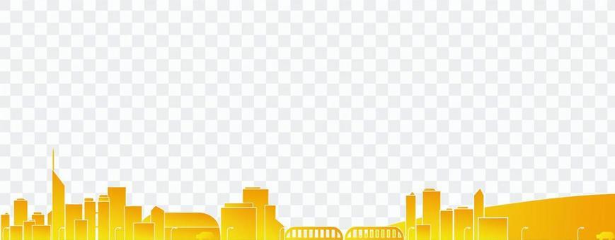 Dusk of the city