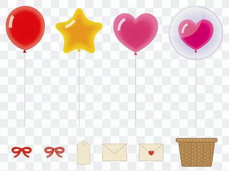 氣球材料集