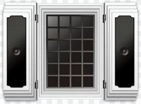 倉庫的窗口