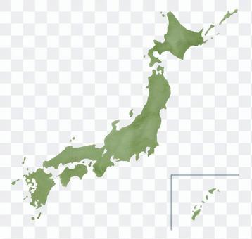 水彩日本材料
