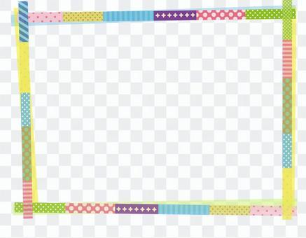 美紋紙膠帶框架