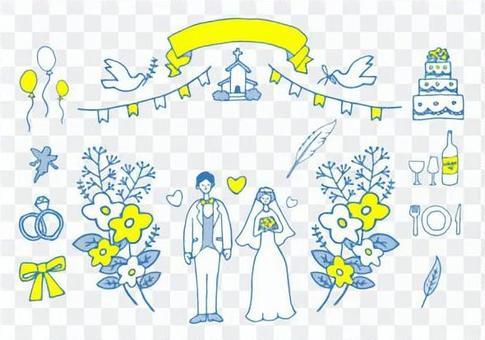 婚禮(藍色)