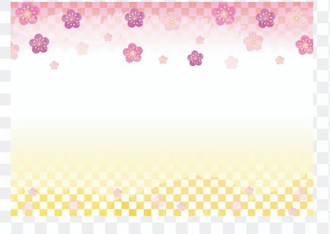 日式_梅花框