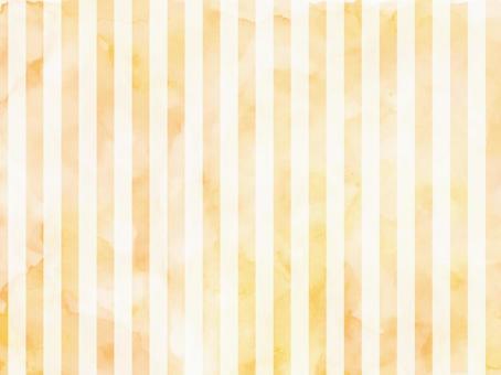 水彩條紋橙色