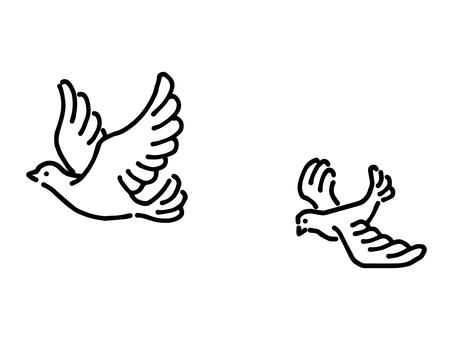 飛鳥的簡單圖解