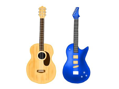 民謠吉他和電吉他