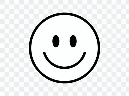 Niko-chan Mark微笑圖釋黑白