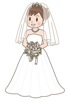 婚礼的新娘