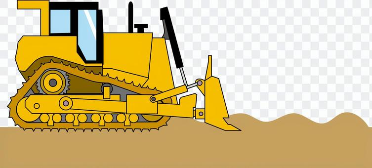 推土機整治重型建築設備