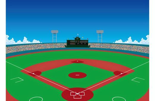 球場棒球場壁紙
