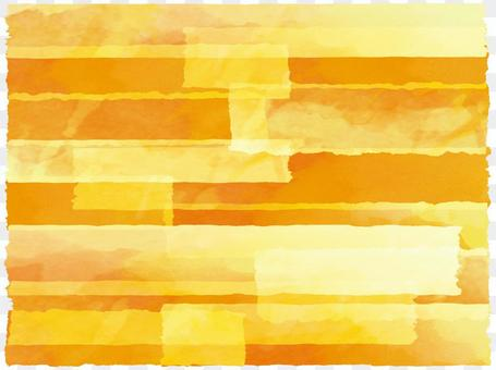 Background torrential picture watercolor autumn color orange