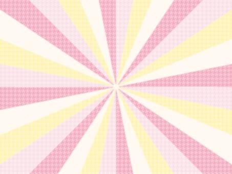 集中線背景可愛的鋸齒形圖案