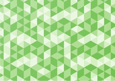 簡單的背景與幾何圖案綠色