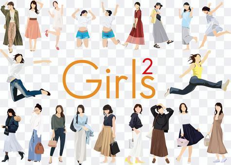 女孩套裝2