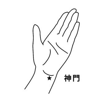 Hand pot-Godmon_black and white