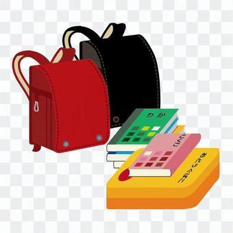 書包和材料