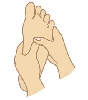 足部反射療法