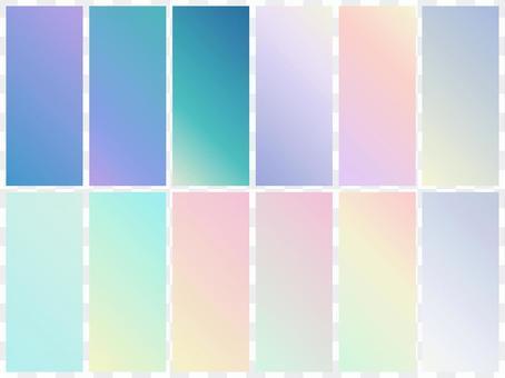 漸變/色板/背景冬季春季顏色