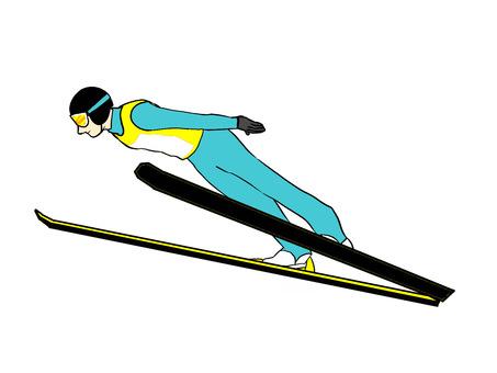 跳台滑雪運動員