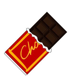 【With ai file】 Board chocolate