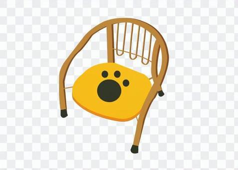 豆椅子例證