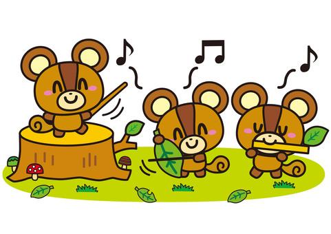松鼠音樂會